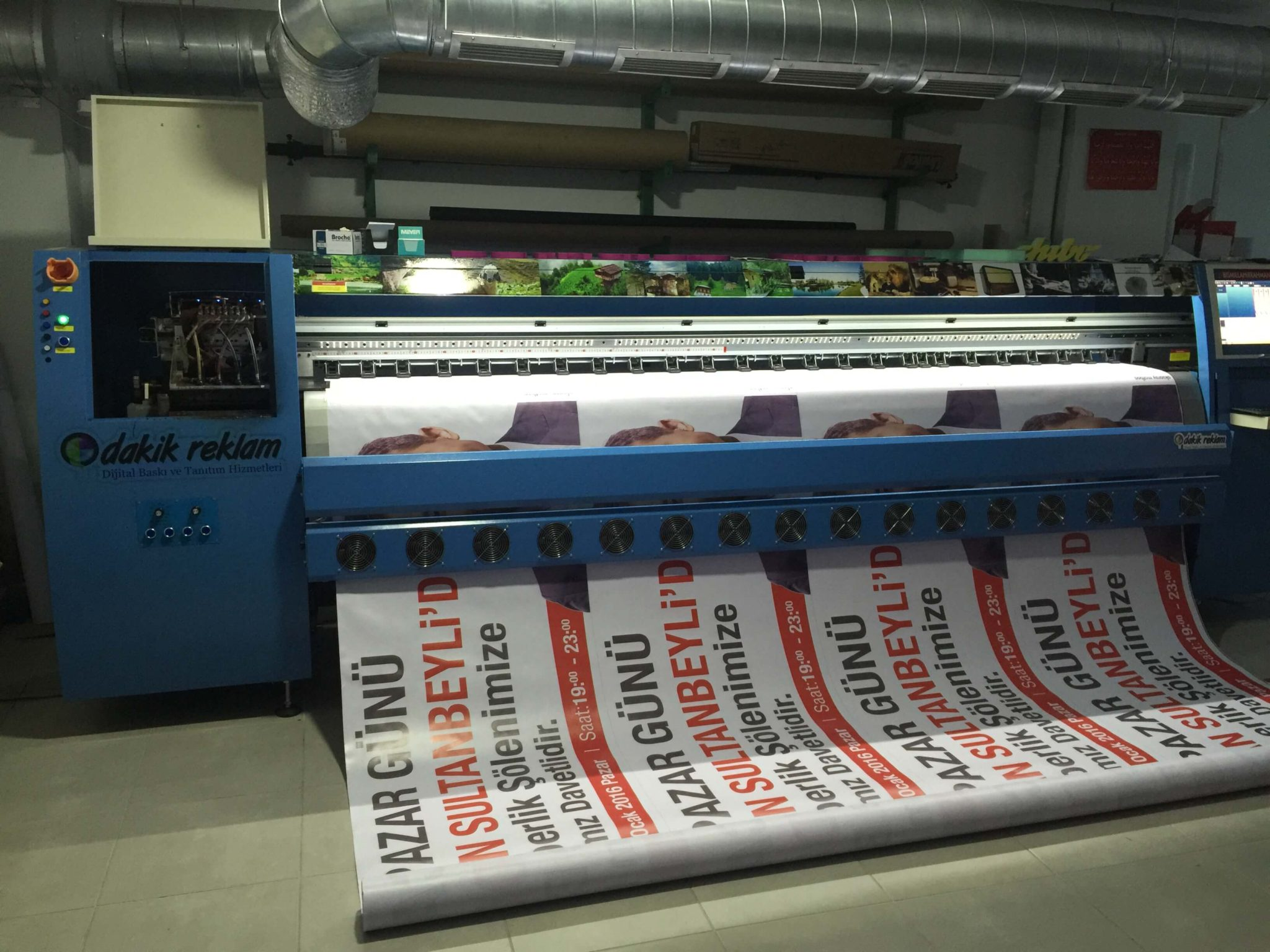 Dakik Reklam Pankart Afiş Baskı