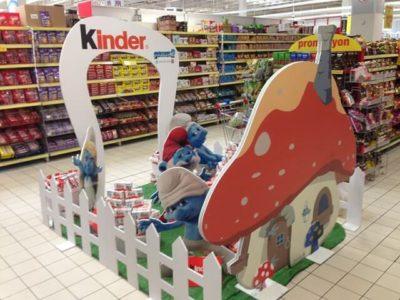 Market Teşhir Stand Kinder