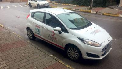 Araç Logo Kaplama Kızılay