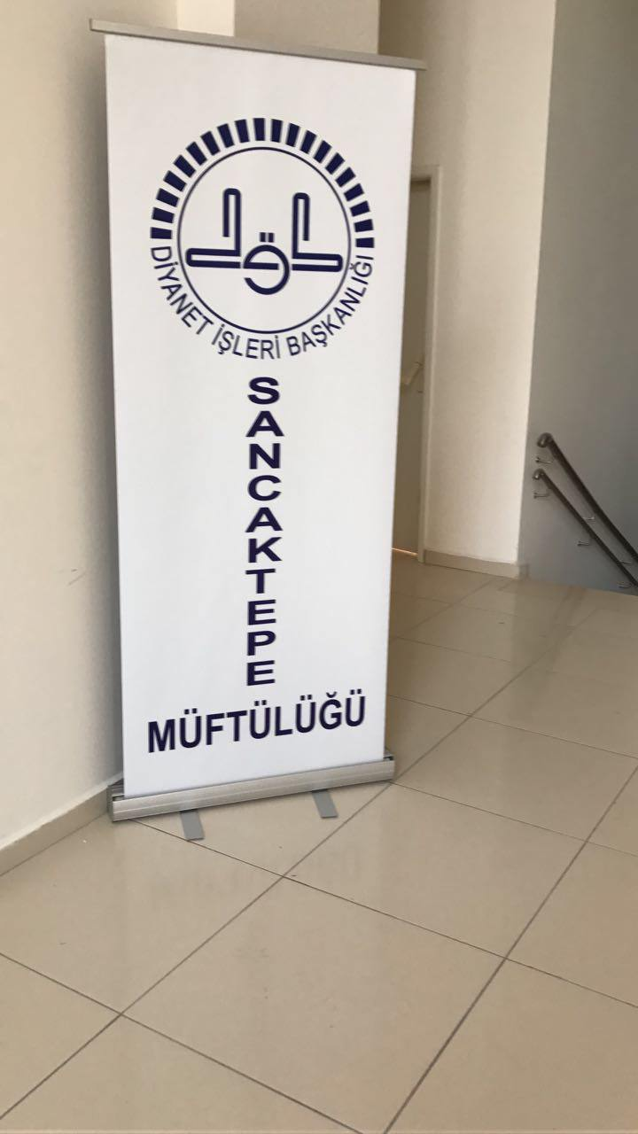 Baskılı Roll up Banner