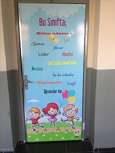 Sınıf Kapı Süsleme