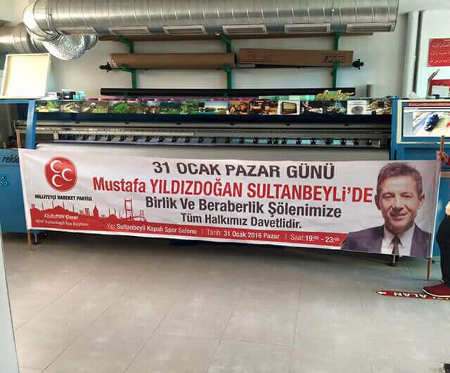 Bez Afiş Mhp Sultanbeyli