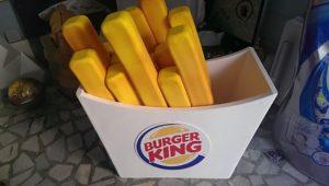 3d Strafor Maket Üretim Burger King