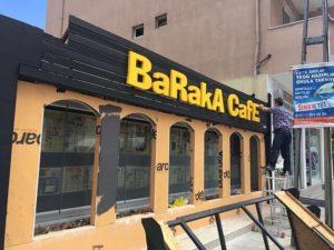 Baraka Cafe Strafor Harf Kesim