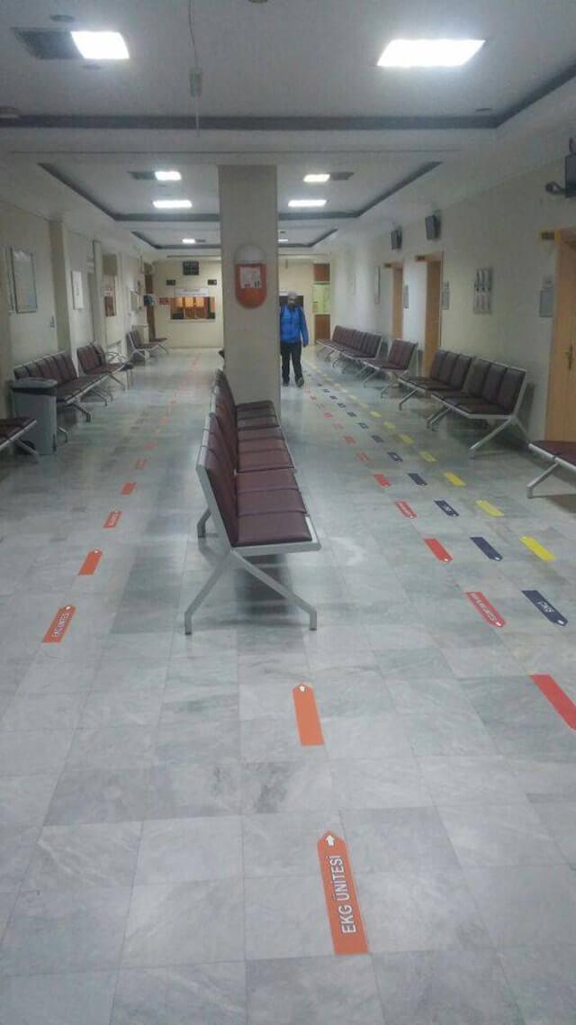 Hastane Poliklinik Şeritleri