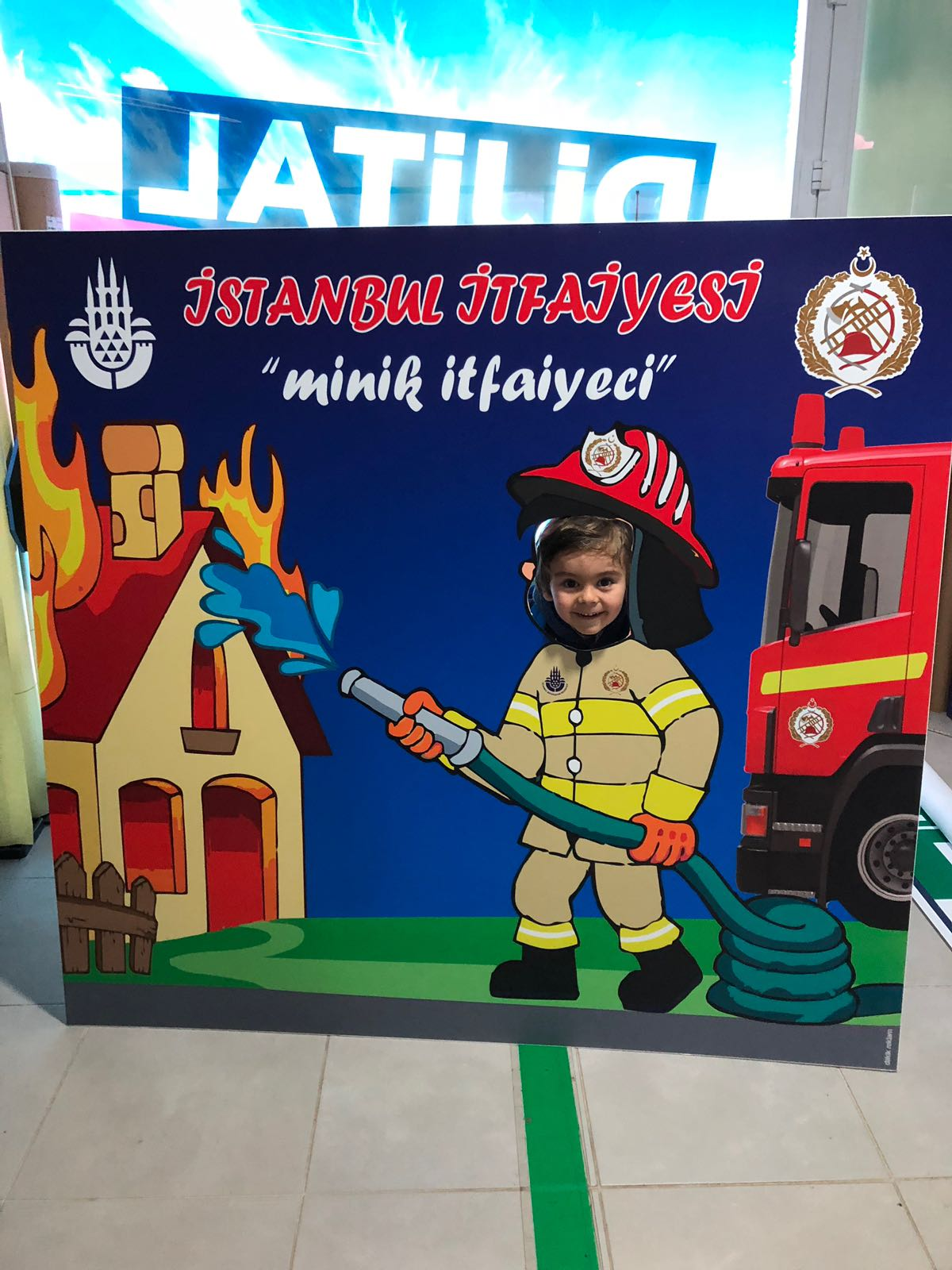 Minik İtfaiyeci Büyükşehir Belediyesi