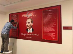 Mustafa Kemal Atatürk Foreks Baskı