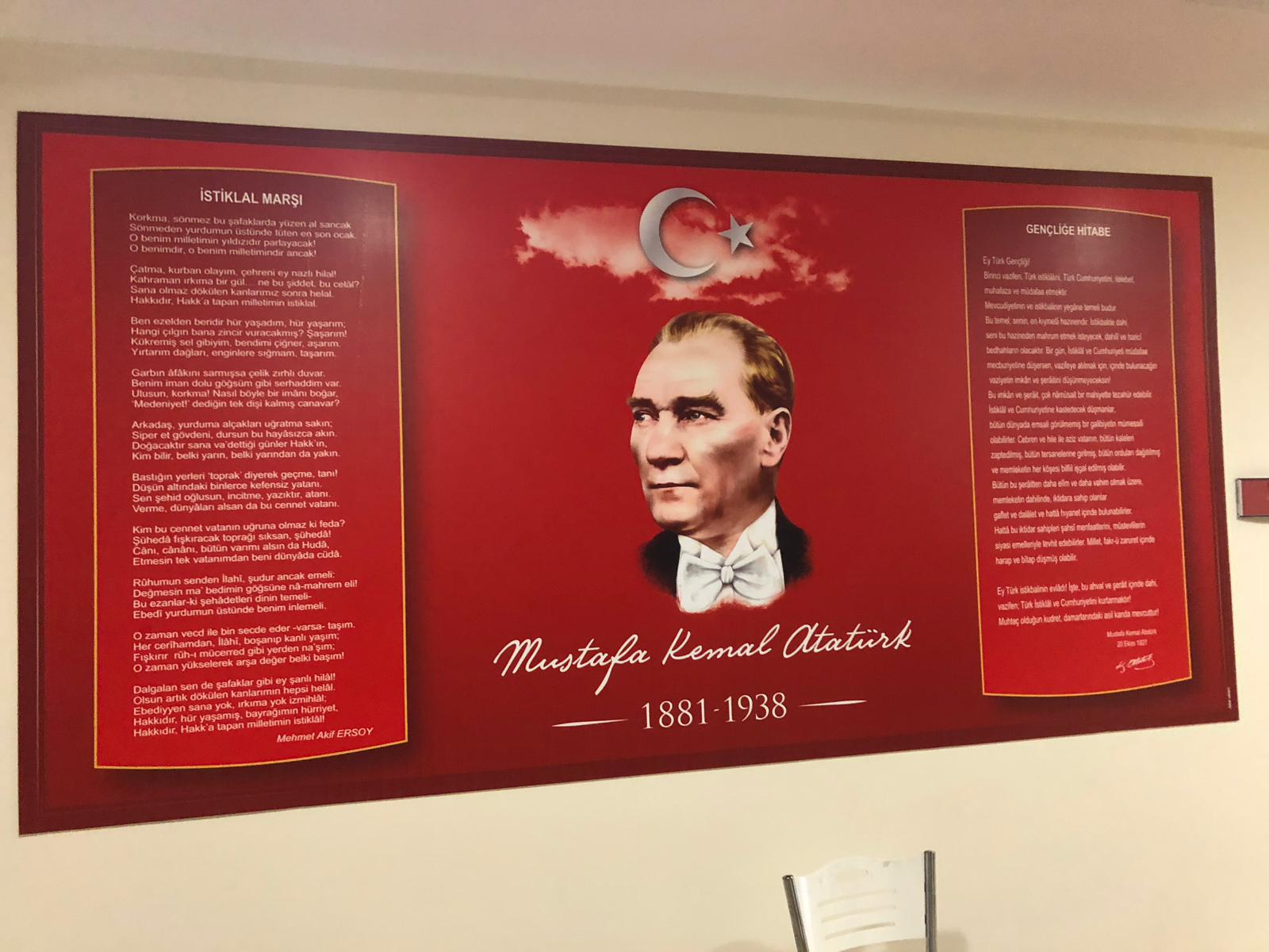 Atatürk Köşesi Milli Eğitim Sultanbeyli