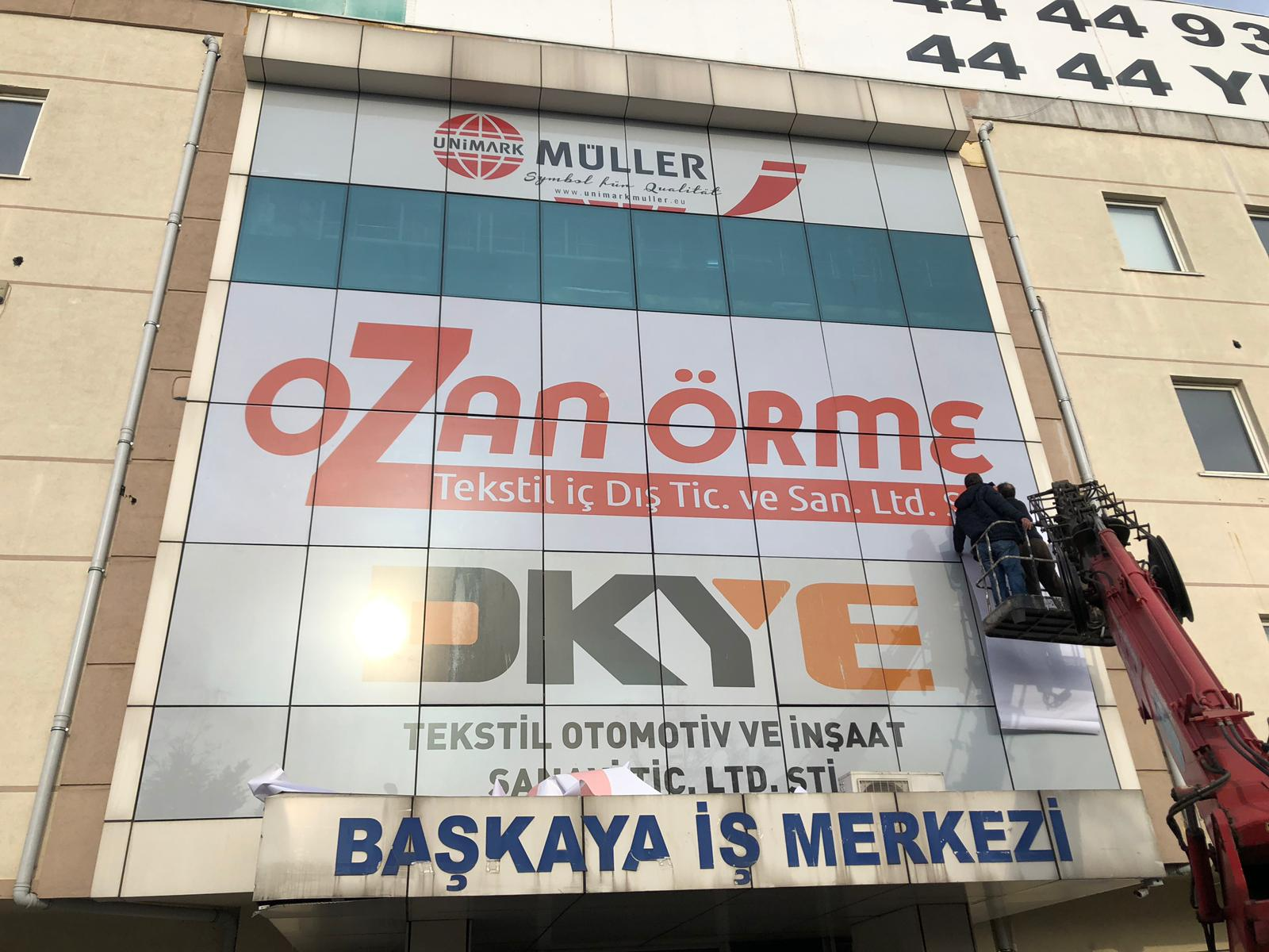 Ozan Örme Cephe Reklam