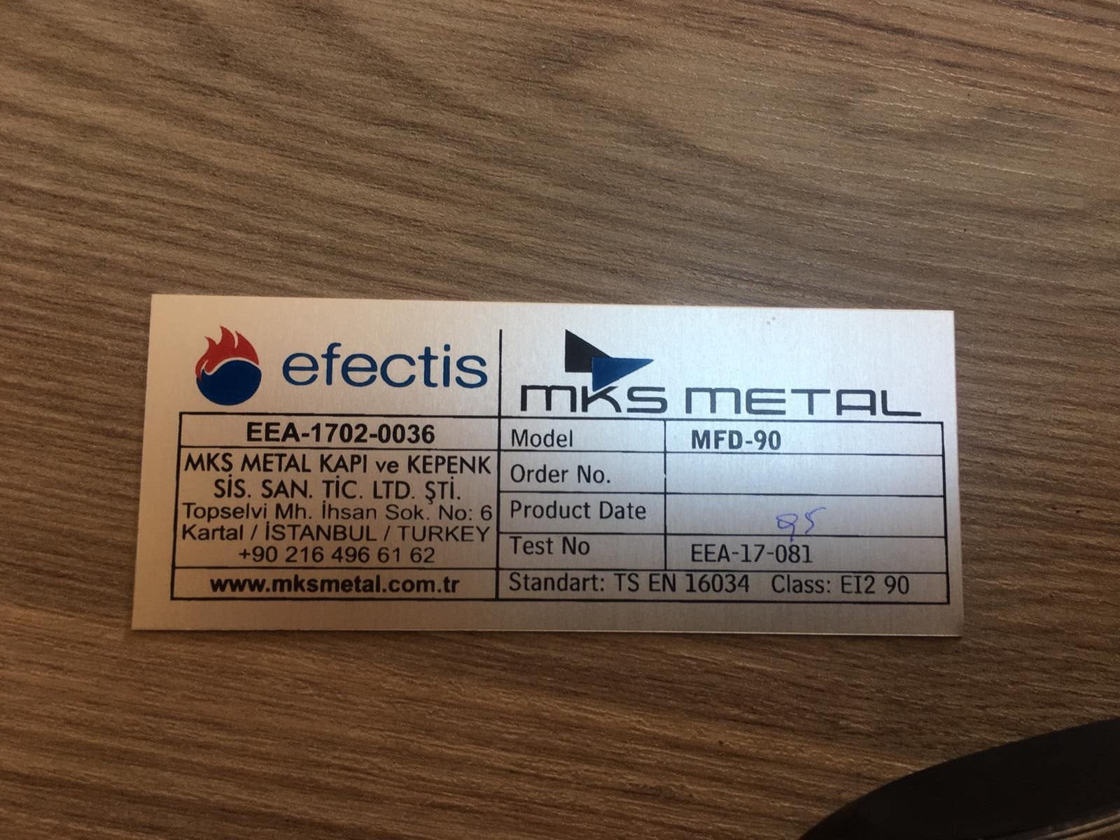 Aluminyum Etiket Baskı