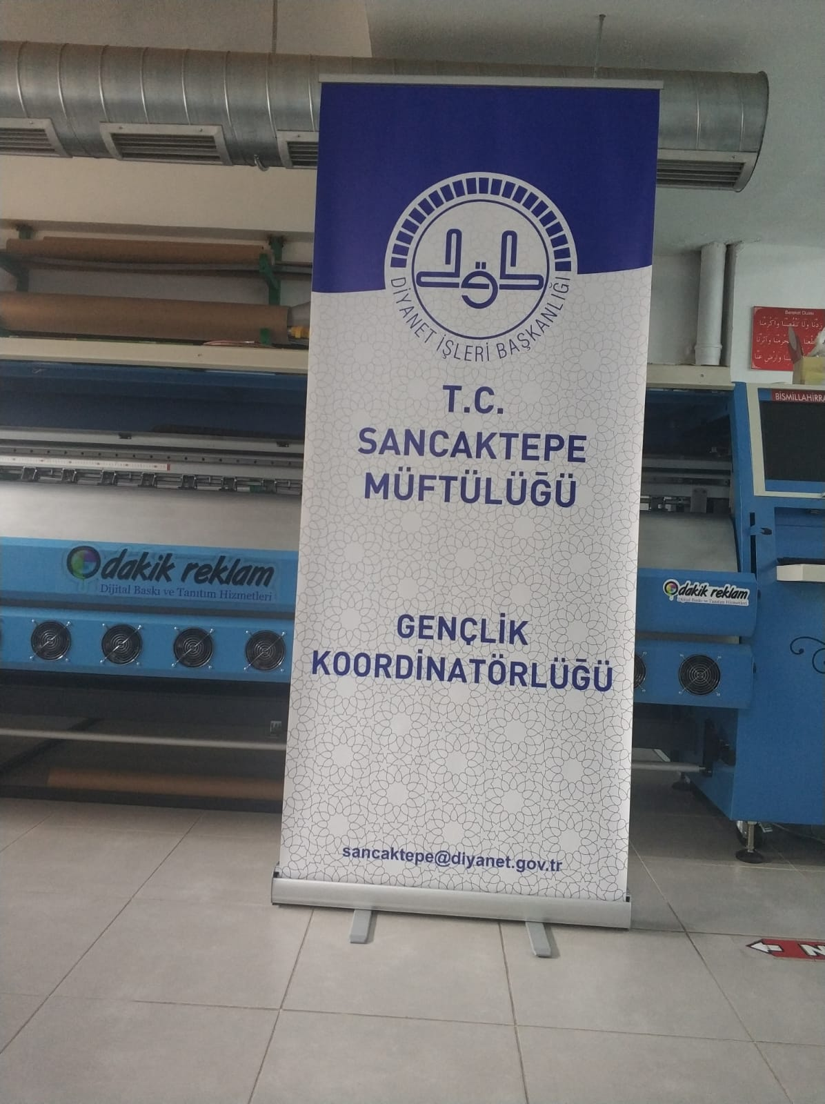 rollup banner 85cm