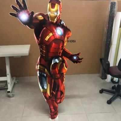 Iron Man Ayaklı Fotoblok kesim