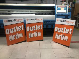 Mondi Home Ayaklı Fotoblok Baskı
