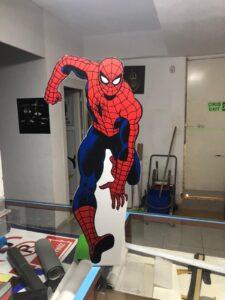 Spiderman Cut Out Maket