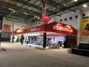 Vitamin.com Stand