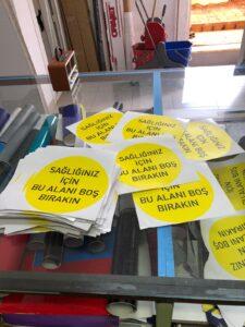 Covid-19 Bas Kes Sticker