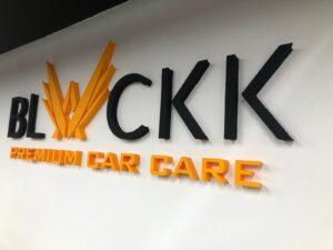 Blackk Car Care Strafor Logo
