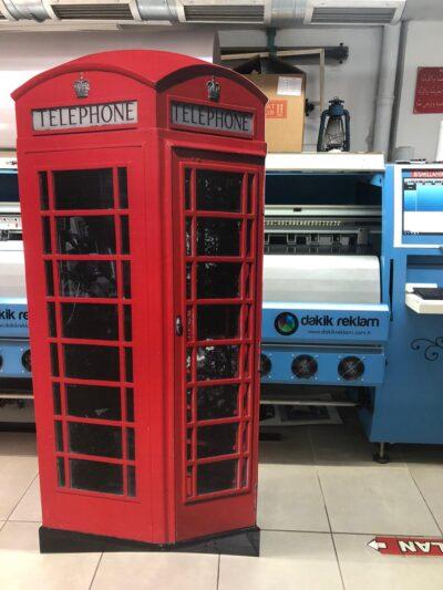 London telefon kulubesi maketi